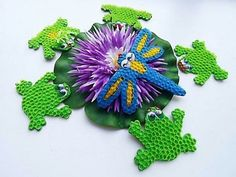 Mosaic on plasticine made of drink straws Kids Crafts, Diy And Crafts, Plasticine, Recycled Art, Craft Activities, Art For Kids, Dinosaur Stuffed Animal, Mosaic, Recycling