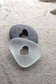 Beach stone Hearts