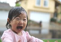 The miraculous moment of a child's discovery is caught perfectly in this little video.