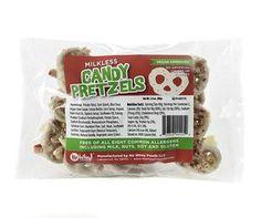 Holiday Milkless Candy Gluten Free Pretzels