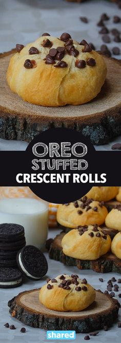Deep fried Oreos are a carnival classic but a little messy to do at home, not any more! As simple as it gets, all you need is 2 ingredients and an oven.  Creamy Oreos enveloped in light and flaky pillsbury dough will elevate snack time to new levels. An added bonus of being a easy bake recipe, try any of your favorite cookies!