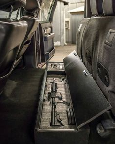 Hell of an idea from @truckvault_usa in the back of an F150. Now I just need the truck lol. BC #tacticalshit #tacticalsht #tacticalshithead by tacticalsht Future Trucks, New Trucks, Cool Trucks, Truck Storage, Gun Storage, Seat Storage, Tactical Truck, Tactical Gear, Tactical Life