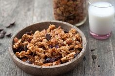 Coconut Granola so good!! I used only almonds no cashews and did not included chocolate chips or craisins.  Also used sweetened coconut since that is all I had.