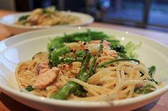 Smoked Salmon and Broccolini One-Pot Spaghetti