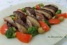 Rocambole de Carne Moída à Moda Na Biroskinha