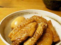 おふくろの味☆手羽先と大根の煮物の画像