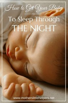 """Has sleep deprivation become normality?  Check out """"How to Get Your Baby to Sleep Through the Night,"""" to find unique tips that help you stop the endless cycle."""
