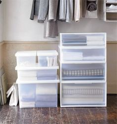 If youu0027re thinking itu0027s finally time to put those winter warmers away but youu0027re short of space why not try our PP storage range. & 14 best organizing images on Pinterest | Muji storage Desk and Desk ...
