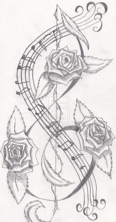 Tattoo commission Rose and music notes Music Tattoos Forearm, Half Sleeve Tattoos Forearm, Inner Forearm Tattoo, Small Inspirational Tattoos, Small Quote Tattoos, Small Meaningful Tattoos, Music Tattoo Designs, Small Tattoo Designs, Music Designs