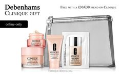 Debenhams: Spend £30/€30 on Clinique and receive this gift. http://clinique-bonus.com/united-kingdom/ For UK/IE residents only.