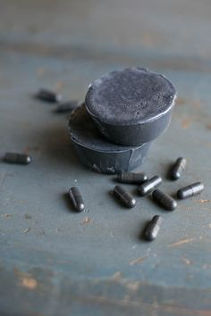 activated charcoal soap recipe is great for acne-prone skin! http://hellonatural.co/diy-activated-charcoal-soap-recipe/