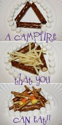 Campfire Safety That's Also Tasty -- a fun activity that teaches kids fire safety & basic fire building skills.