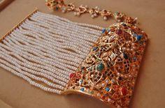 An old style Nauratan (9 different kind Gemstones) Bracelet