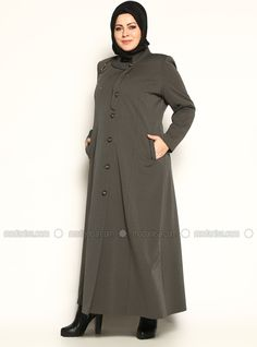 30 Manteau Ideas Modanisa Fashion High Neck Dress
