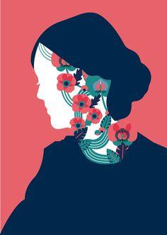 Virginia Woolf on Behance