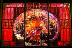 #HarveyNichols #Xmaswindows2012