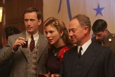 Another great shot of Milner, Sam, and Foyle from Foyle's War.