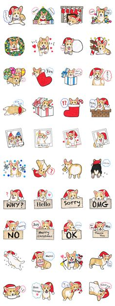 Merry Christmas Corgi sticker & LINE Creators& Stickers Hope you& doing well.From your friends at. The post Merry Christmas Corgi sticker & LINE Creators& Stickers Hope you& doing well.F& appeared first on Bruce Kennels. Pembroke Welsh Corgi Puppies, Corgi Dog, Corgi Funny, Cute Corgi, Corgi Drawing, Birthday Corgi, Corgi Facts, Christmas Dog, Merry Christmas