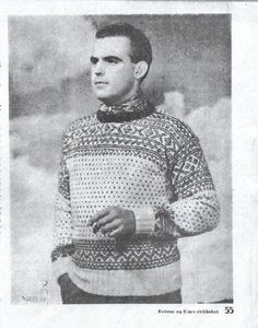 Lusegenser Norwegian Knitting, Lund, Vintage Knitting, Jumpers, Ravelry, Knitting Patterns, Weaving, Men Sweater, Boys