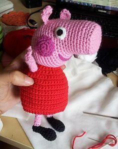 Peppa Pig, free Amigurumi pattern by Sabrina Boscolo