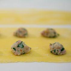 Ricotta, parm, parmasan Ravioli in Sage Butter Sauce