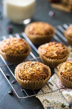 Coconut Quinoa Protein Muffins