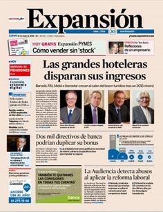 Noticias económicas de última hora, información de mercados, opinión y mucho más, en el portal del diario líder de información de mercados, economía y política en español