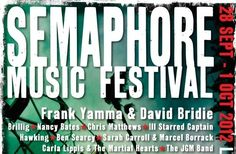 Semaphore Music Festival by Debra Thorsen and Tamarra Wellmanon Pozible Pledged of A$500 Funded: 116% Category: Music