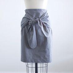 simple tie skirt