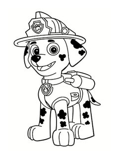 Explore Paw Patrol Coloring Pages. the Best Free Printable Paw Patrol Coloring Pages Collections. Discover Anti-stress Paw Patrol Coloring Pages Included Random Difficult Levels and Print them all Easily. ONLY COLORING PAGES Paw Patrol Coloring Pages, Truck Coloring Pages, Coloring Pages To Print, Free Coloring Pages, Free Printable Coloring Pages, Disney Coloring Pages Printables, Rubble Paw Patrol, Paw Patrol Party, Paw Patrol Birthday