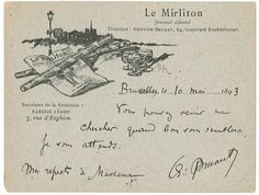 Autographe de Aristide BRUANT Vintage World Maps, Paris, Belle Epoque, Drawing Drawing, Montmartre Paris, Paris France