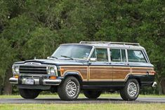 Displaying 1 - 15 of 40 total results for classic Jeep Grand Wagoneer Vehicles for Sale. Classic Trucks, Classic Cars, Woody Wagon, Jeep Wagoneer, Jeep Accessories, Jeep Grand, Station Wagon, Car Pictures, Mopar