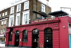 The Hawley Arms   Camden Town: The favoured bolt hole of Amy Winehouse. A solid pub with music at its heart