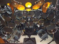Piloto ou baterista? | Pilot or drummer? # big drums # drum set