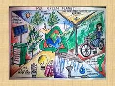 Kids Are Learning Energy Conservation and Creating Artistic Drawings to Prove It - US Power and Light Earth Drawings, Bff Drawings, Pencil Drawings, Dream Drawing, 3d Art Drawing, Energy Conservation Poster, Save Water Poster Drawing, Save Earth Drawing, Save Earth Posters
