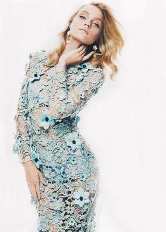 Jessica Stam for Harper's Bazaar Australia March 2012