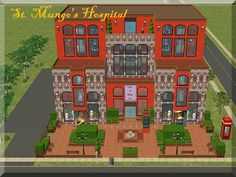 Mod The Sims - Harry Potter Collection: St. Mungo's Hospital