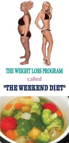 """The weight loss program called """" The weekend Diet"""" offers us an excellent opportunity to get rid of some weight and at the same time to detoxify and get healthier. The results will be seen with the naked eye: the unwanted fats will disappear; the skin will be suppler and without """"impurities"""" and you'll never feel fatigue again."""