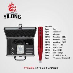 37.39$  Watch now - http://alivpo.shopchina.info/go.php?t=32731597931 - Free Shipping Tattoo kit tattoo machine high quality 35000R/M Profession Permanent Makeup machine eyebrow lips pen 262  #buyonline