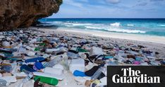 Plastic waste washed up on Christmas Island, Australia the Guardian: The Plastic Backlash Blue Planet Ii, Plastic Beach, Plastic Pollution, Ocean Pollution, Trash Art, Plastic Waste, Environmental Issues, Tour Operator, Global Warming