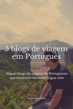 5 blogs de viagem em Português