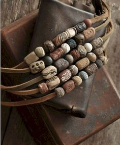 30 easy diy polymer clay beads ideas (17)