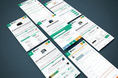 Profesyonel – Kurumsal Mobil Arayüz Tasarımı #mobilapp