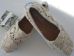 Lace Toms shoes - Cr