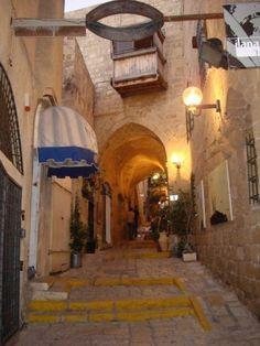 Jaffa old Street, Israel