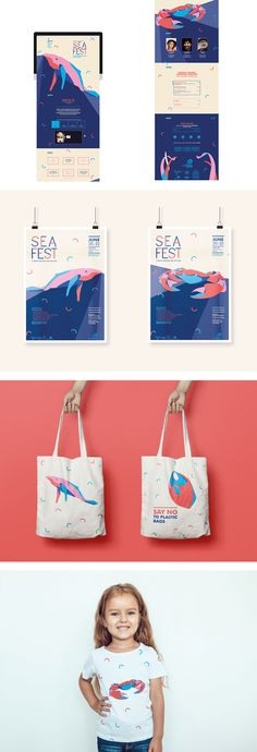 Festival Event, Branding, Digital, Tote Bag by Laurie, Shillington Graduate. View more student work --> https://www.shillingtoneducation.com #MadeAtShillington