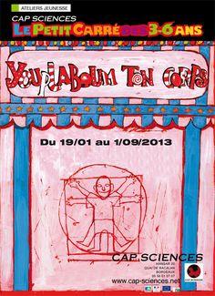 Exposition Youplaboum ton corps. Du 19 janvier au 18 octobre 2013 à Bordeaux.