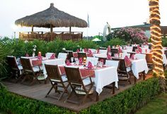 Reception Set up at the Delphin Diva, Turkey x Perfect Weddings Abroad, Wedding Abroad, Outdoor Furniture Sets, Outdoor Decor, Traveling By Yourself, Diva, Wedding Venues, Reception, Turkey