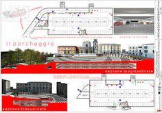 Risultati immagini per parcheggio sotterraneo sezione tecnica