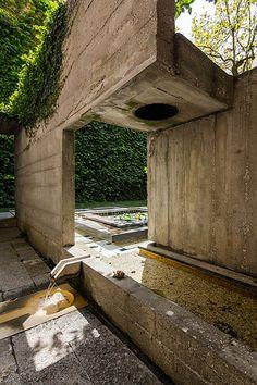 Bridge. Fondazione Querini Stampalia.1963. Venice, Italy. Carlo Scarpa.